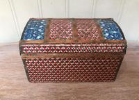 Colonial Dome Top Tin Casket (7 of 9)