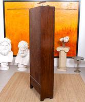 Art Deco Oak Glazed Bookcase (11 of 11)