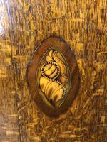 Georgian Oak Corner Cupboard with Inlay (7 of 10)