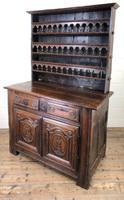 Gothic Antique Carved Oak Dresser (9 of 10)