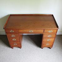 Teak Pedestal Desk (4 of 10)