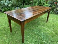 French Farmhouse Table in Walnut (4 of 7)