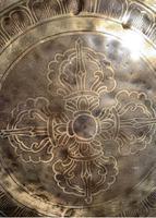 Seven Chakras Sound-Bath Bowl - Buddha Feet c1930 Nepal (3 of 5)
