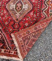 Traditional Persian Qashqai Wool Rug (5 of 5)