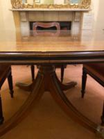 Large High-quality Circular Mahogany Tilt-top Dining Table c.1920-1930 (4 of 6)