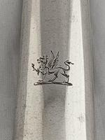 Victorian Antique Silver Marrow Scoop 1853 (4 of 9)
