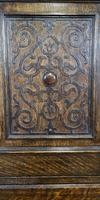 Good Quality Carved Oak Tallboy / Linen Press / Wardrobe (8 of 11)