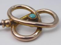 Murlle Bennett 9ct Gold & Turquoise Hat Pin (2 of 6)