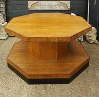 Superb Art Deco Walnut Centre Table (3 of 4)
