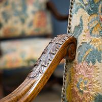 Pair of Carved Armchairs (4 of 8)