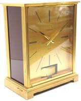 Rare 1960's Jaeger Lecoultre Atmos Mantel Clock – Swiss Made Model VII Red 1967 (5 of 13)