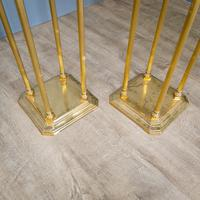 Pair of Brass Plant Stands (4 of 8)