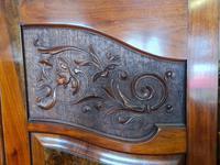 Antique Walnut Wardrobe with Burr Walnut Panels (8 of 11)