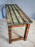 Original Paintwork Table Country Table (3 of 6)
