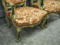 Pair of Italian Carved and Painted Armchairs (14 of 16)