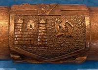 Victorian Oak & Silver Document Box (3 of 13)