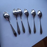 Silver Plate Set of 6 x Teaspoons (7 of 9)