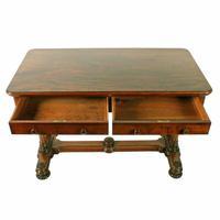Mid 19th Century Mahogany Library Table (4 of 8)
