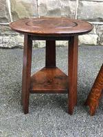 Pair of Arts & Crafts Oak Tables (4 of 9)
