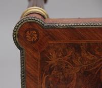 19th Century Inlaid Mahogany Dressing Table (6 of 13)