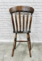 Matched Set of 6 Windsor Kitchen Chairs c.1890 (4 of 7)