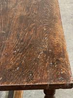 Wonderful Antique Large Refectory Farmhouse Dining Table (13 of 31)