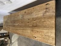 Rare Huge 3m Bleached Oak Farmhouse Table (21 of 23)