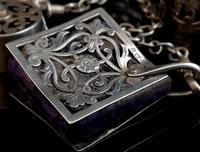 Victorian Sterling Silver Chatelaine (15 of 17)