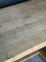 French Bleached Oak Farmhouse Kitchen Table (10 of 25)