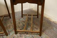 Pair of Arts & Crafts Elm Tables (7 of 8)