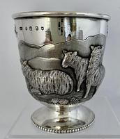 Stunning Irish Silver Beaker - Dublin 1867 (3 of 6)