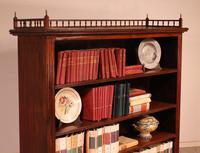Fine Open Bookcase in Mahogany Early 19th Century - England (11 of 11)