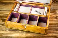 Beautiful Georgian Figured Walnut Jewellery Box 1800 (10 of 13)
