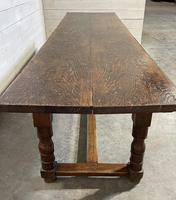 Wonderful Antique Large Refectory Farmhouse Dining Table (14 of 31)