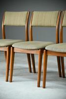 Set of 4 Retro Teak Dining Chairs (2 of 8)