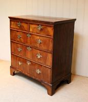 Mid 18th Century Walnut & Pine Chest of Drawers (6 of 10)