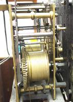 18th Century Longcase Clock Fine Welsh Oak Bala Grandfather Clock Painted Dial c.1844 (6 of 13)