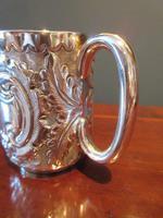 Edwardian Solid Silver Christening Mug (4 of 7)
