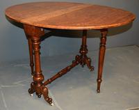 Burr Walnut Sutherland Table (8 of 11)