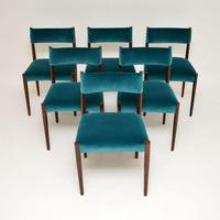 6 Vintage Rosewood Dining Chairs by Robert Heritage for Archie Shine (13 of 13)