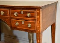 Regency Mahogany Writing Table Desk (2 of 8)