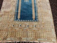 Antique turkish panderma prayer rug (2 of 6)