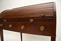 Antique Period George III Mahogany Tambour Top Desk (5 of 15)