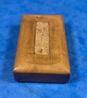 Victorian  Miniature Italian Sorrento Olive Wood Snuff Box (12 of 12)