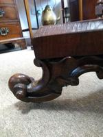 Victorian Rosewood Snap Top Table (9 of 9)