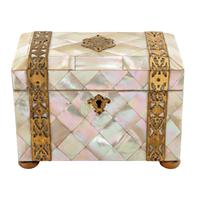 Mother of Pearl Tea Caddy (7 of 8)