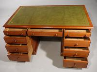 A Good Late Regency Mahogany Partners Desk (9 of 11)
