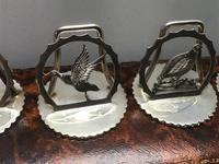 Solid Silver Bird Menu Holders (7 of 7)