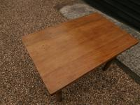 Lovely 19th century pine small farmhouse style kitchen dining table (8 of 12)