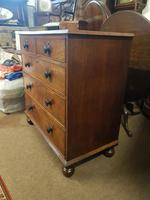 Antique Mahogany Chest of Drawers (4 of 5)